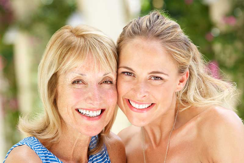 mother and daughter invisalign patients